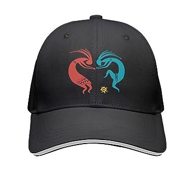 SJSNBZ Kokopelli Dance Indian Unisex Adult Mens Printed Baseball Hats Womens  Baseball Hats 580141cc11