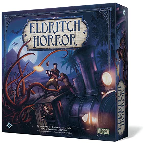 Fantasy Flight Games Eldritch Horror - Eldritch Horror, Juego de Mesa (Edge Entertainment EH01)
