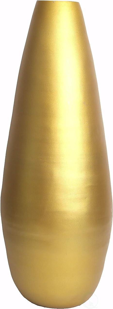 Uniquewise 31 5 Spun Bamboo Modern Tall Floor Vase Gold Metallic Amazon Co Uk Kitchen Home