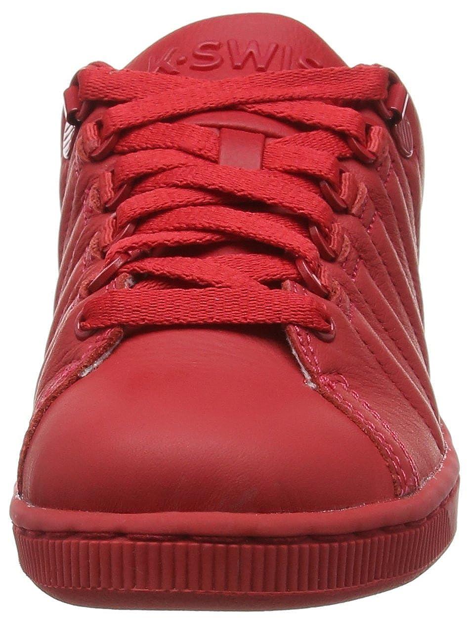 K-Swiss Lozan III Monochrome, Baskets Basses Femme, Rouge (Rbn rouge/Rbn rouge), 35 1/2 EU