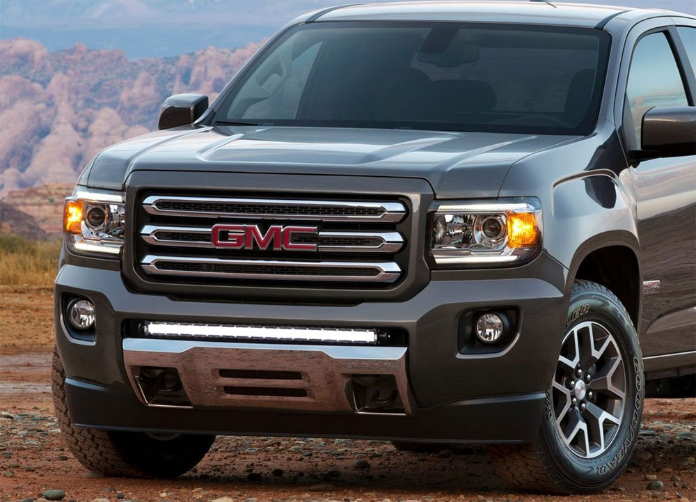 photo v s diesel first canyon gmc car crew and test reviews cab review original driver drive