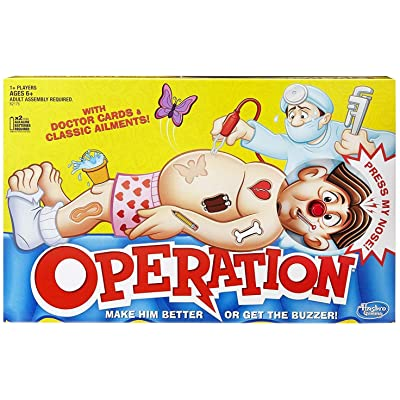 Classic Operation Game: Toys & Games