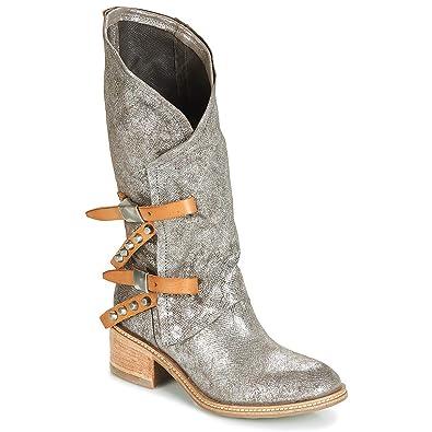hot sale online b5952 b8847 Airstep / A.S.98 Winnie Stiefel Damen Silbern Klassische ...