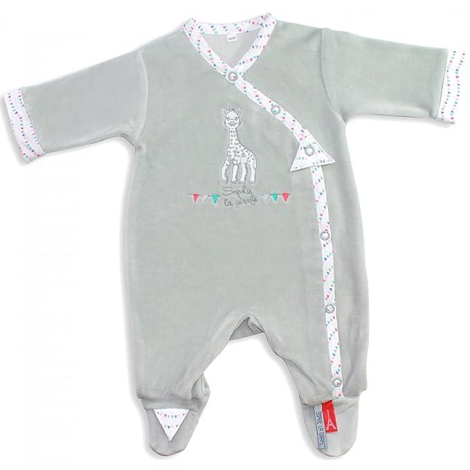 Mayoparasol - Pijamas/Dors Bien/Grenouillère gris perle - Sophie la jirafa® - Bebé Niña y niño: Amazon.es: Electrónica