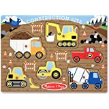Melissa And Doug 3388 Construction Site Peg Puzzle, 6-Pieces
