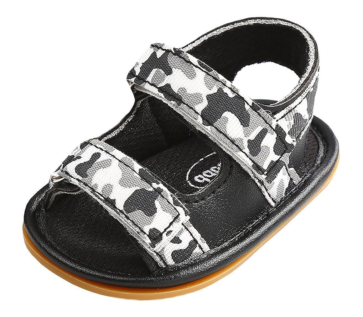 La Vogue Unisex Baby Boys Girls Camouflage Sandals Soft Sole Anti Slip