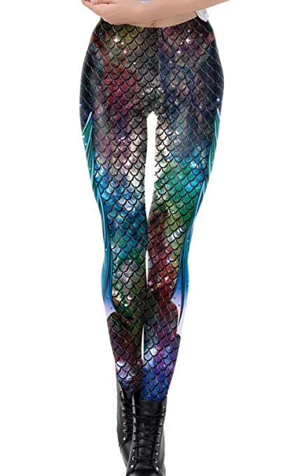 DELEY Damen Mädchen Kreative Mode Gestaltung Leggins Enge Hosen Stretch Strumpfhose Leggings