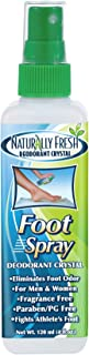 product image for Naturally Fresh Deodorant Crystal Foot Spray, 4-Ounce Bottle (12 pack)