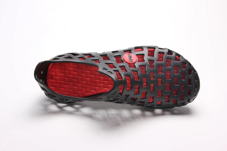 premium selection 7b61a 2f565 PAIRLERS sandalias de playa para caminar, zapatos de agua cómodos zapatos  de jardín ocasionales Negro