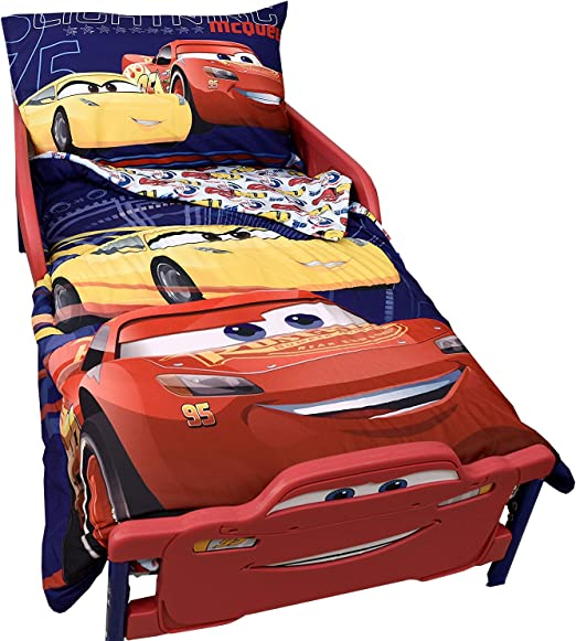 Disney Cars 3 rayo mcqueen infantil juego de cama 3 piezas