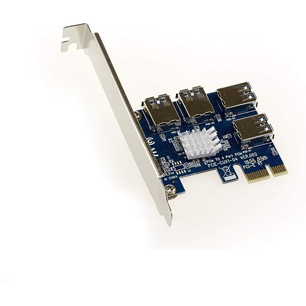 Kalea Informatique - Tarjeta de replicación PCIe 1 x A 4 puertos ...