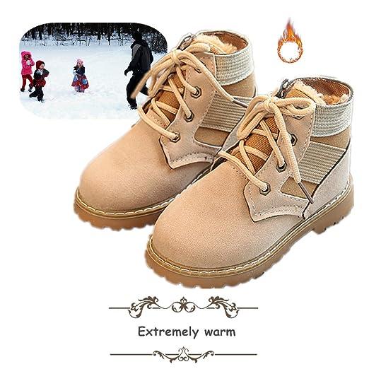 Invierno Botas Bebé , Morbuy Engrosamiento Botas de Nieve Zapatos Para Niño Niña Invierno e Mantente