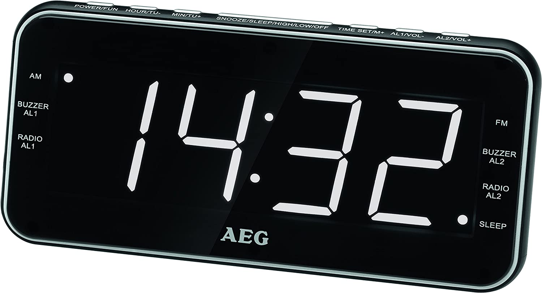 AEG MRC 4157 - Radio, Negro: Amazon.es: Electrónica