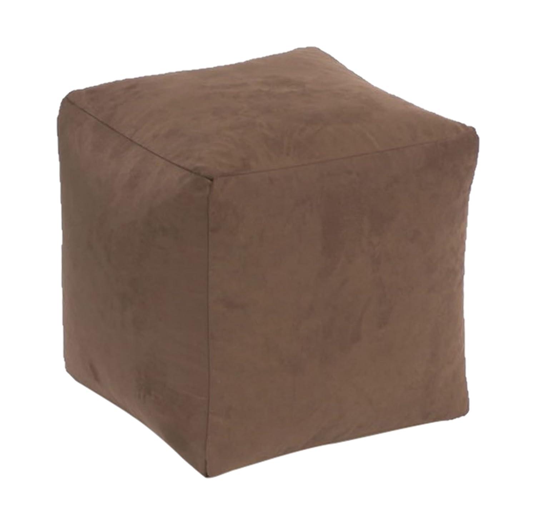 Beautiful Beanbags Brown Faux Suede Cube Beautiful Beanbags Ltd BRN-FS-CUBE