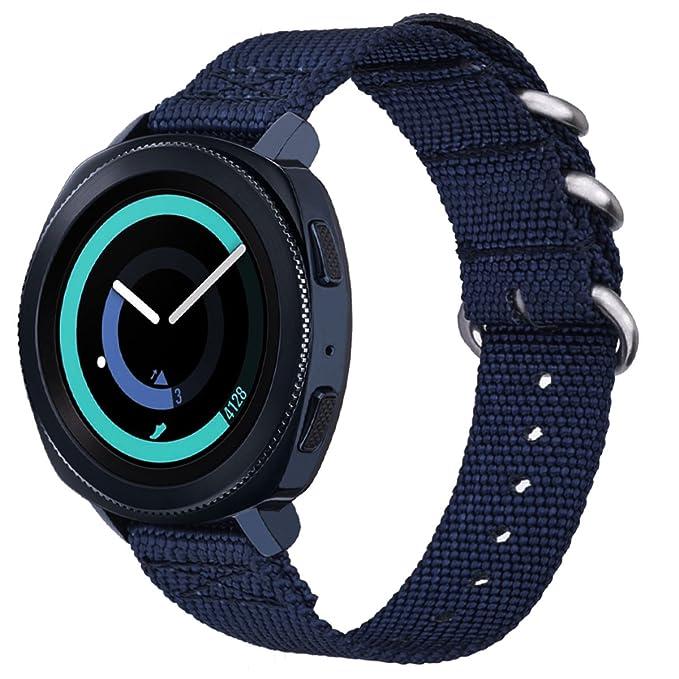 v-moro Samsung Gear deporte correas, 20 mm Premium de repuesto de ...