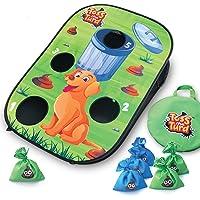 Toss The Turd - Hilarious Outdoor and Backyard Cornhole Bean Bag Toss Game for Kids