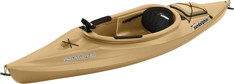 Best fishing kayak: Sun Dolphin Excursion 10-Foot Sit-in Fishing Kayak