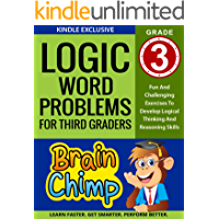 Logic Word Problems For Third Graders: Ages 8 – 9, Grade 3