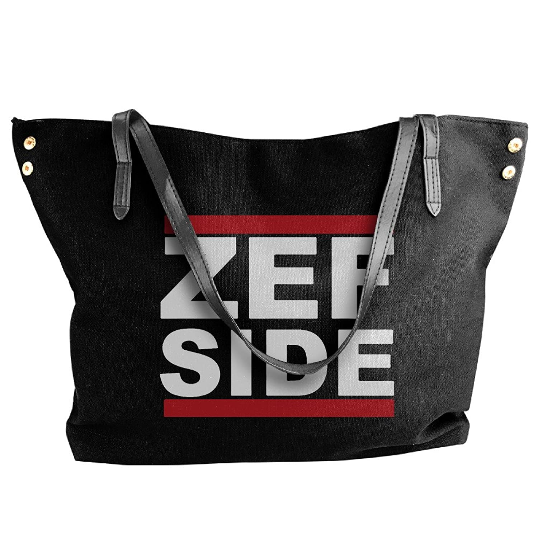 ZEF SIDE Logo Women Shoulder Bags