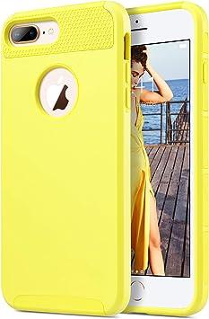 ULAK Funda iPhone 7 Plus, [Serie Colorida] Slim híbrido de Doble ...