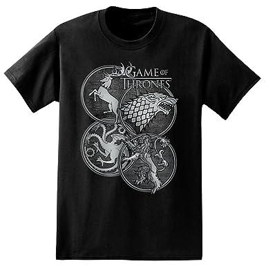 Amazon Game Of Thrones House Symbols Adult T Shirt Clothing