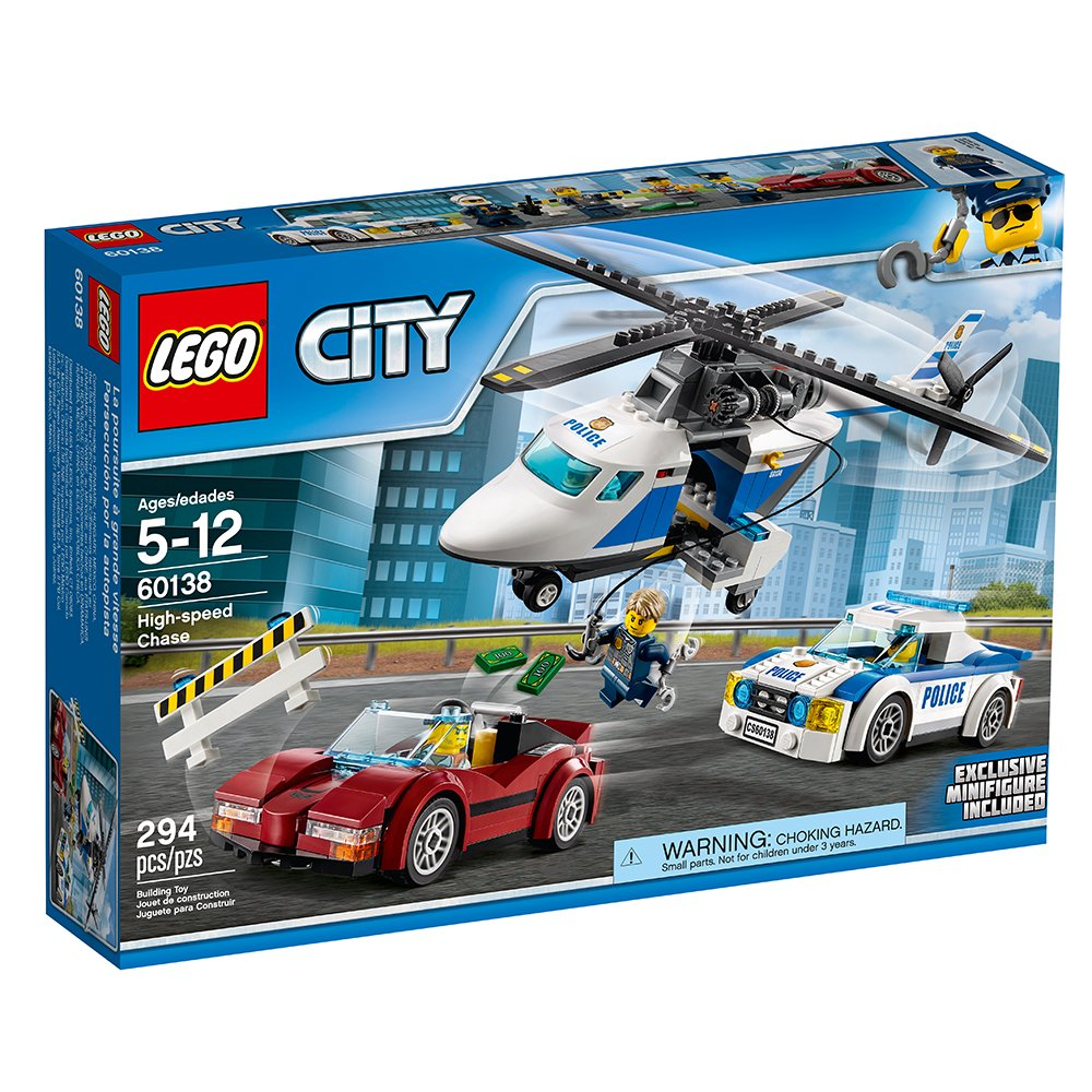 Amazoncom Lego City Police High Speed Chase 60138 Building Toy