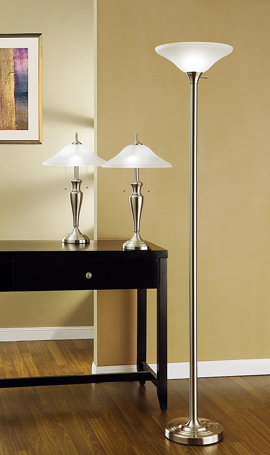 Set Of Two Table Lamps Amazoncom Artiva Usa Triple Pack Classic Cordinates 71 Inch