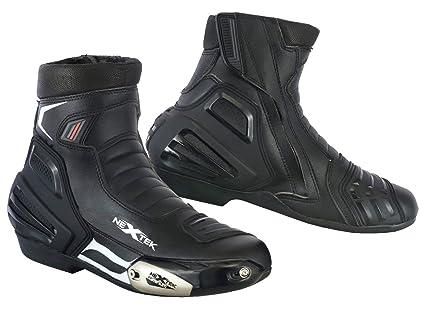 Motorrad Stiefel Rennschuhe Stylist Kurze Stiefeletten Motorrad Off Road Touring Schuhe wasserdicht gepanzert für Herren Jungen Grobe UK 14 EU 48