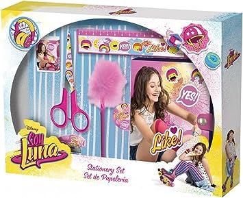Soy Luna Set de papelería (Kids Euroswan WD18114): Amazon.es: Juguetes y juegos