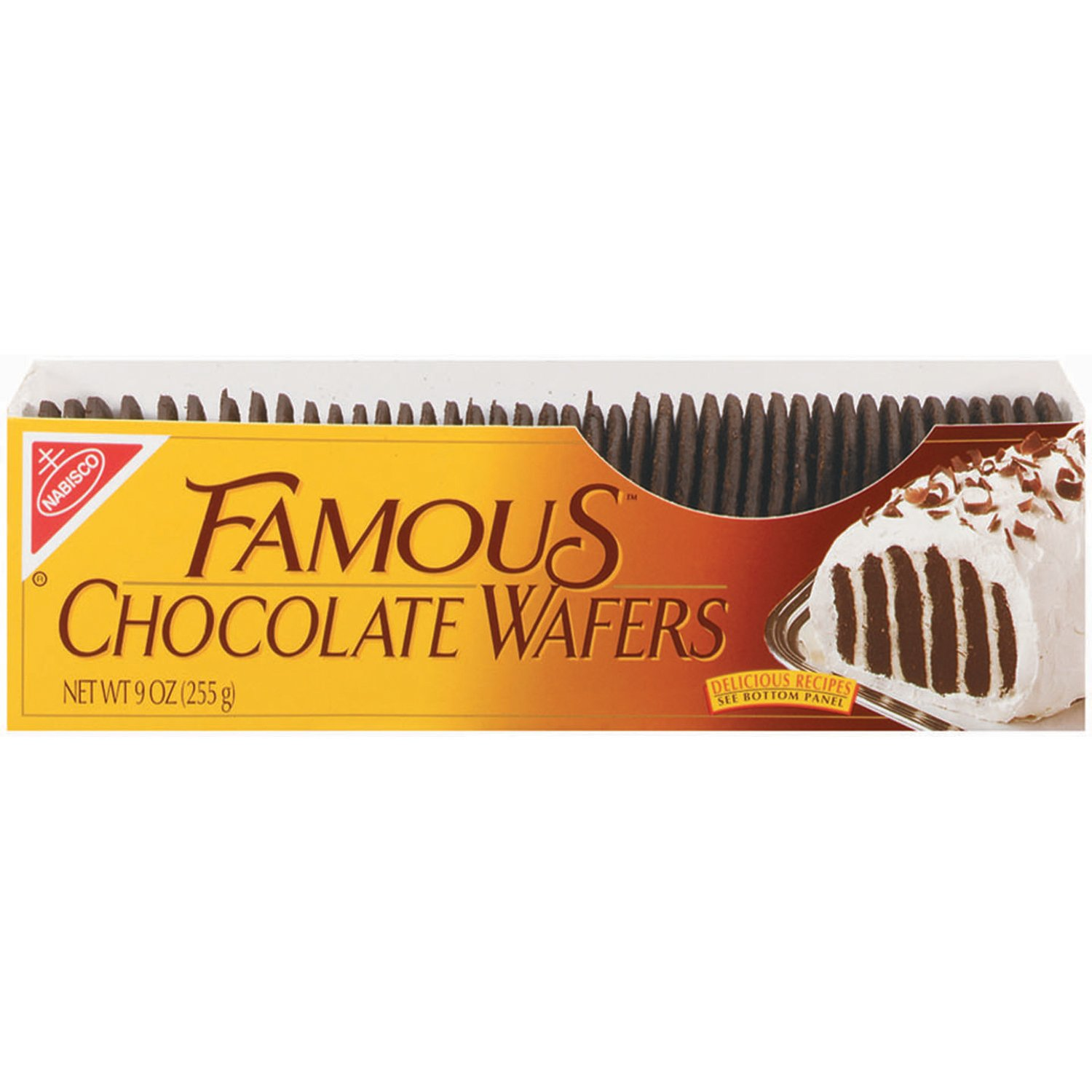 Famous Chocolate Wafers Chocolate Cookies, 9 Ounce by Nabisco