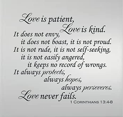 Image result for image of 1 corinthians 13