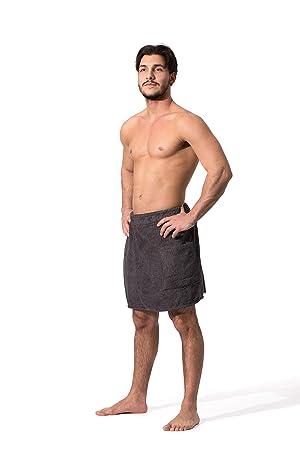 ZOLLNER Toalla Sauna para Hombre, marrón, algodón, S/M, Otras Tallas y Colores: Amazon.es: Hogar