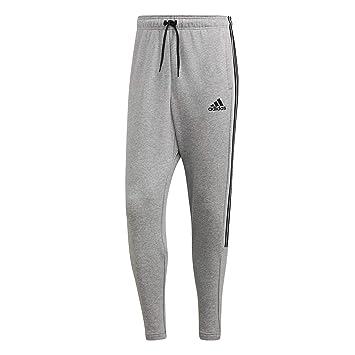 88adc935bcdccb adidas Herren Must Haves 3-Streifen Tiro Trainingshose Medium Grey  Heather Black 2XL