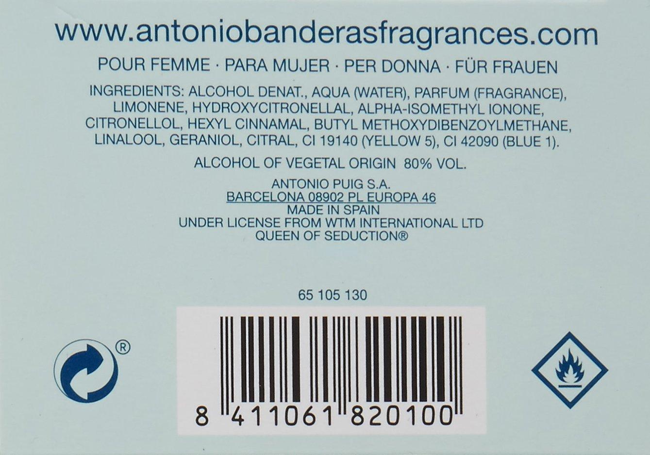 Amazoncom Antonio Banderas Queen Of Seduction 27 Oz Eau De