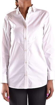 Michael Kors Fashion MCBI29700 Camisa blanca para mujer ...