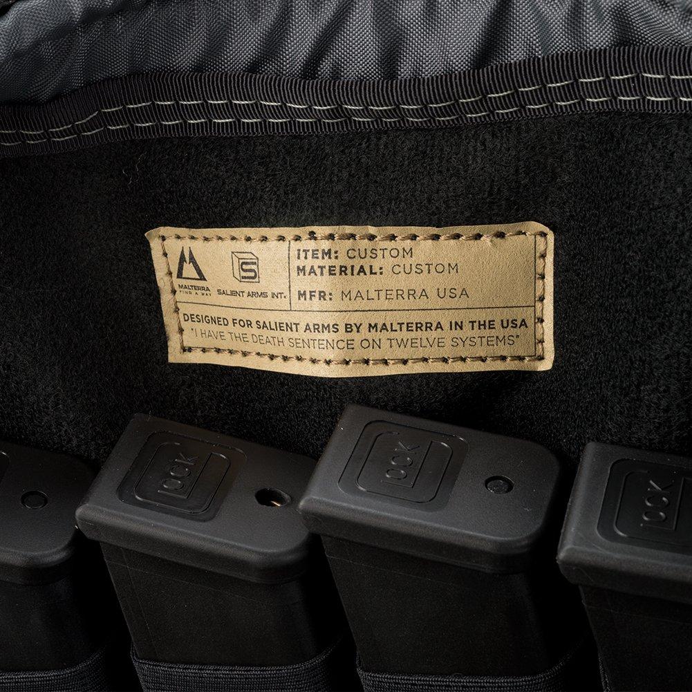 Evike Salient Arms International x Malterra Tactical Pistol Bag - Grey - (60929) by Evike (Image #4)