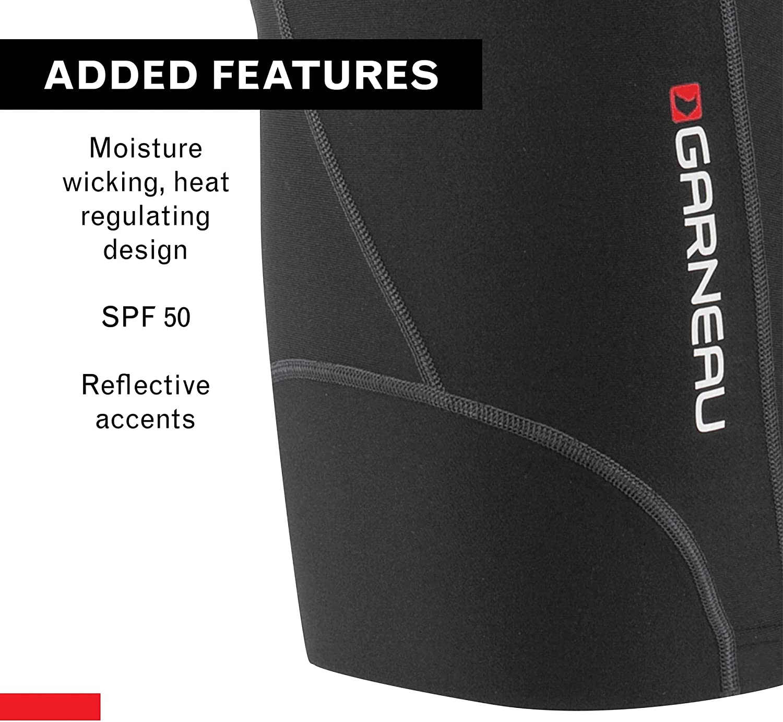 Louis Garneau Womens Fit Sensor 7.5 Bike Shorts Padded and Breathable
