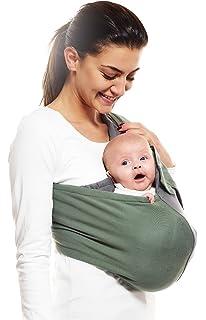 Wallaboo - Porte bébé Connection - Ergonomique de la naissance à 36 mois -  Le porte 31e9c995512