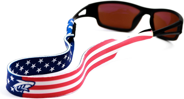 Pilotfish - Correa para gafas de sol (neopreno, diseño personalizable), 48,26 cm, Patriot: Amazon.es: Deportes y aire libre
