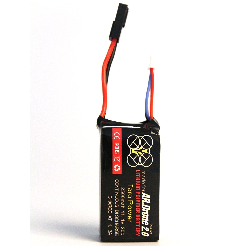 Tera Reemplazo de la Bateria Litio -Polymer para Parrot AR.Drone ...