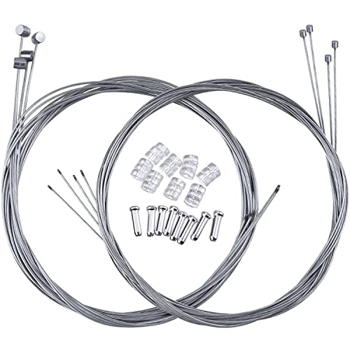 Assorted Solderless Wire Nipple Pull T Cable Throttle Bike