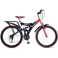 Hero Ranger 18 Speed Dtb Vx 26T Mountain Bike - Red & Black