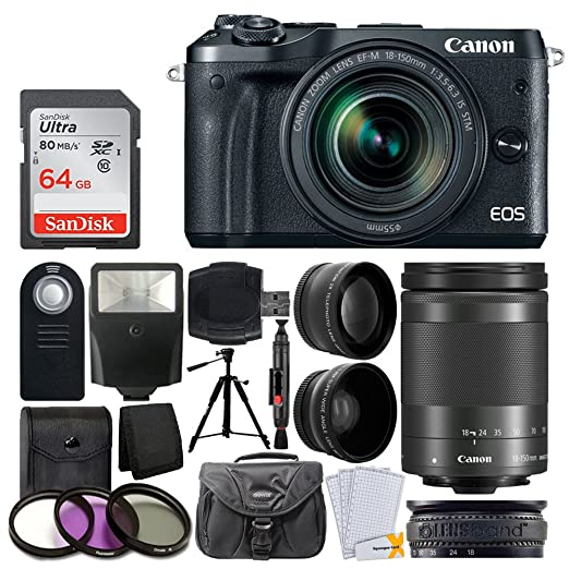 Review Canon EOS M6 Mirrorless