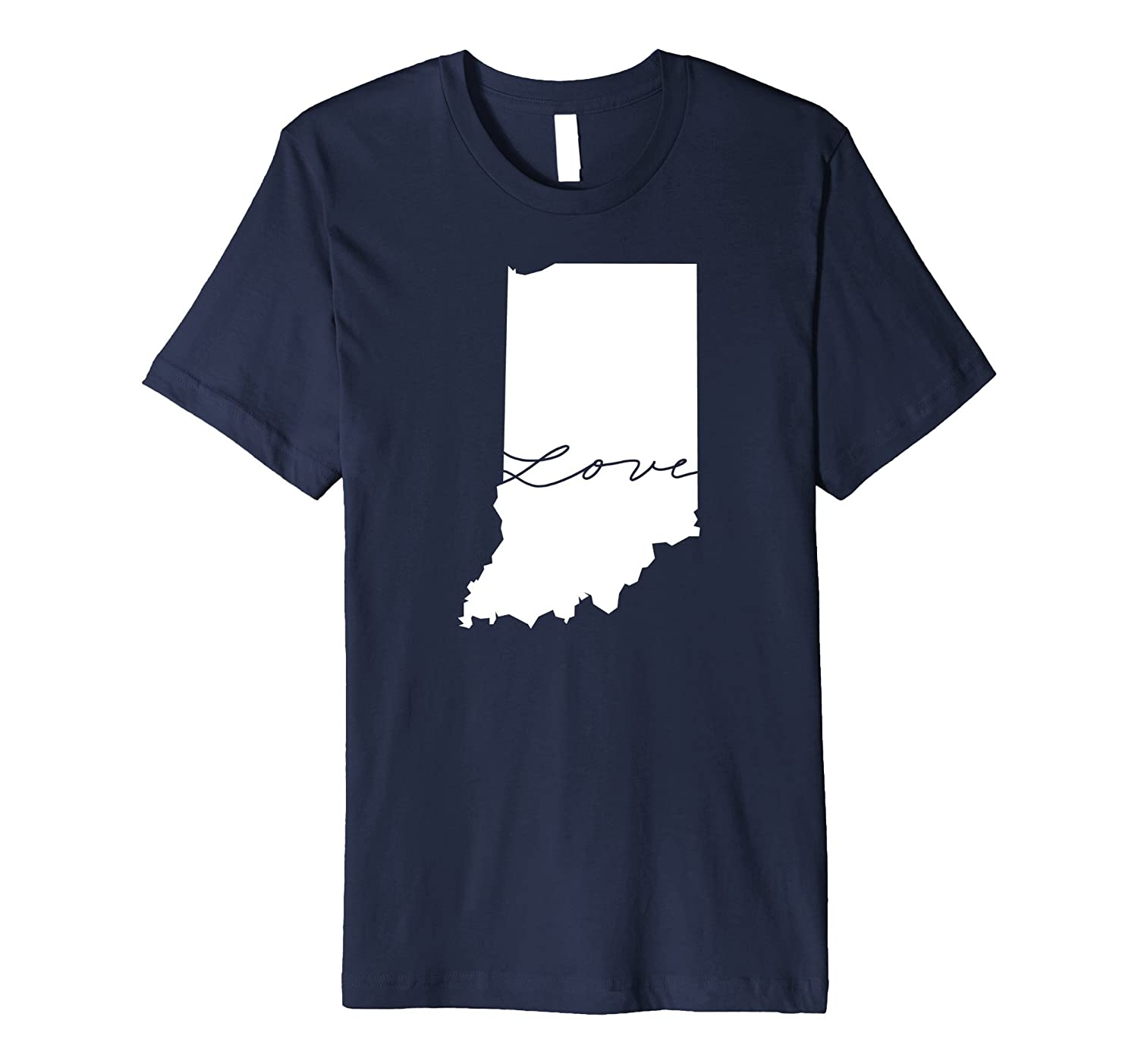 50nifty The State Love Collection - Indiana T-shirt-CD