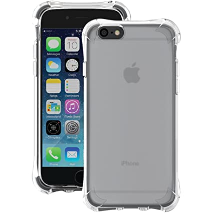 new concept 45285 1c16a Ballistic JW3345-A535C Jewel Case for Apple iPhone 6 and iPhone 6S - Retail  Packaging - Translucent Clear