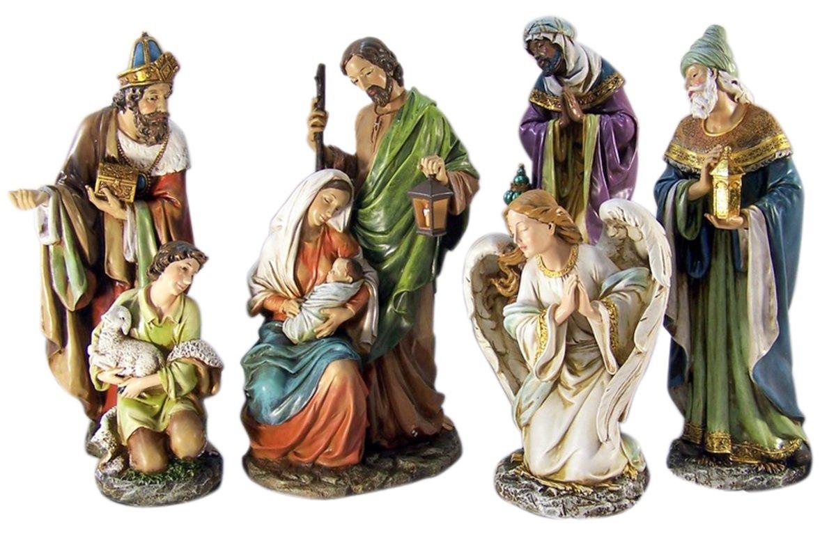 Joseph's studio by Roman Nativity Set 5-Piece 16-Inch
