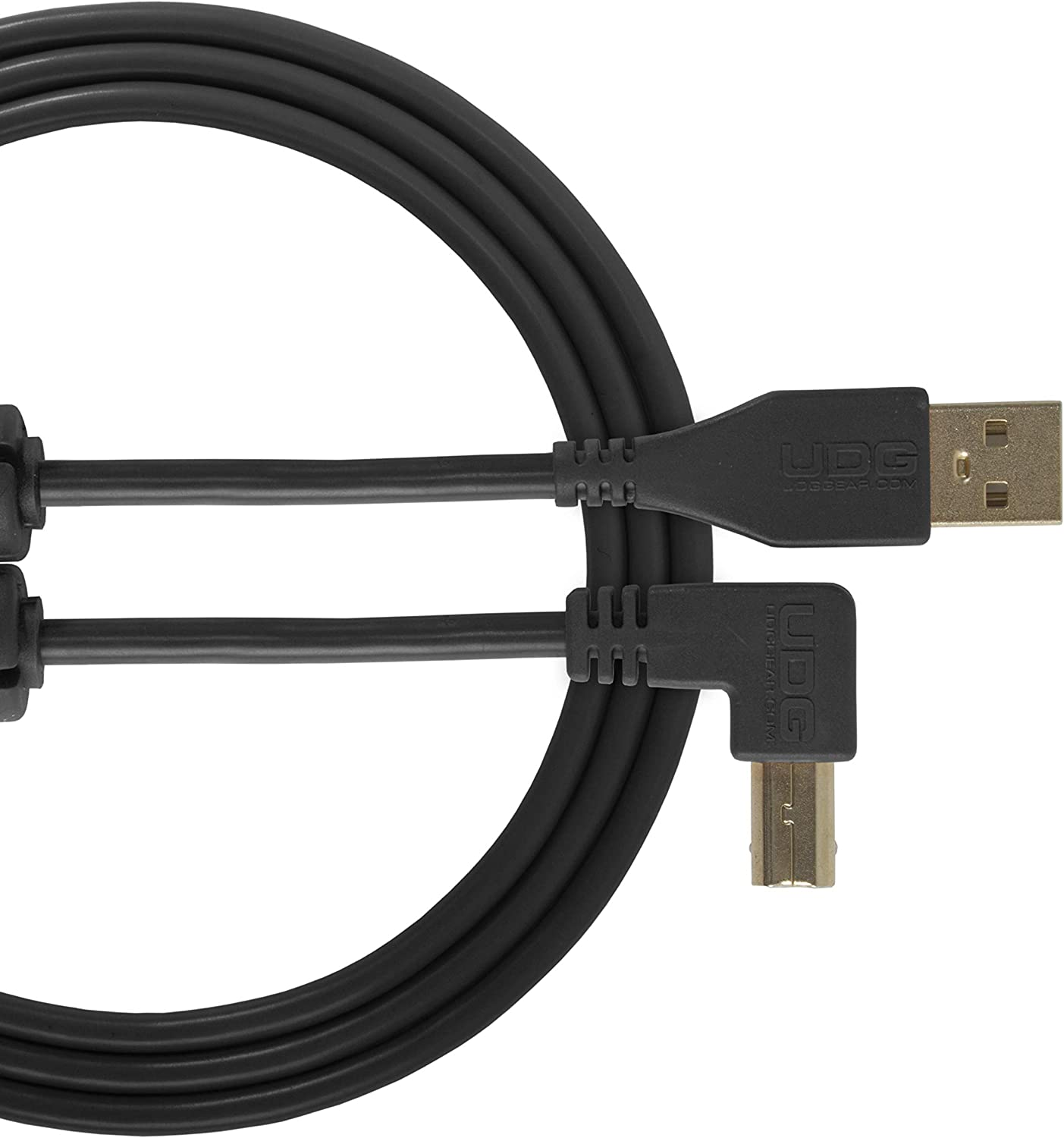 UDG Cable USB 2.0 High-speed Audio Optimized USB 2.0 A-Male to B-Male cable A-B