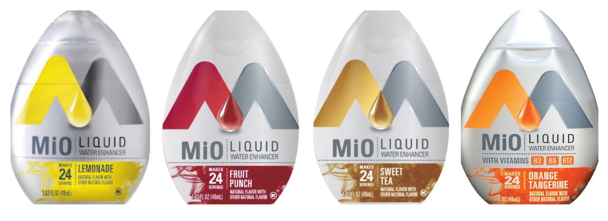 Mio Water Enhancement - Variety (Pack of 4) (Variety)