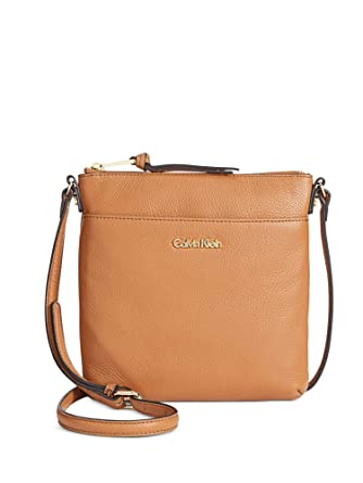 574be9c1d0df Image Unavailable. Image not available for. Color  Calvin Klein Pebble Top  Zip N s Crossbody