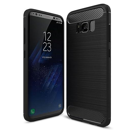 3 opinioni per IVSO Samsung Galaxy S8 Custodia, Protettiva Case Cover Custodia in silicone per